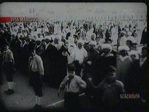 Nemzeti örömünnep Marokkó függetlenné válása alkalmából, 1956-ban