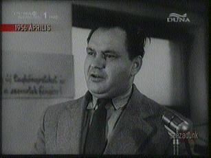 Horváth János, igazgató, R[ákosi] M[átyás] Acélmű, 1956