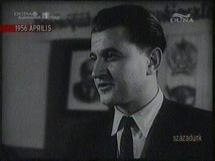 Rostás Ernő, másodtitkár, R[ákosi] M[átyás] Acélmű Pártbizottsága, 1956