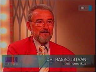 dr. Raskó István, humángenetikus