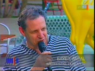 Bayer Antal, szerkesztő, díjalapító