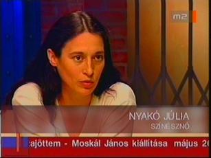 Nyakó Júlia, színésznő