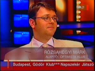 Rózsahegyi Márk, alapító, Optimista Klub