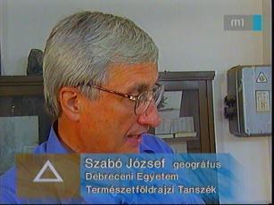 Szabó József, geográfus, Debreceni Egyetem Természetföldrajzi Tanszék