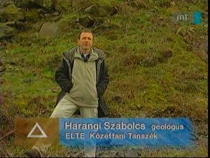 Harangi Szabolcs, geológus, ELTE Kőzettani Tanszék