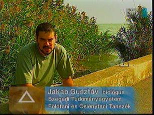 Jakab Gusztáv, biológus, Szegedi Tudományegyetem Földtani és Őslénytani Tanszék