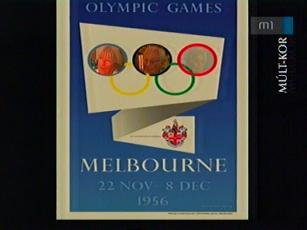 Olympic Games, Melbourne - 22. nov. - 8. dec., 1956