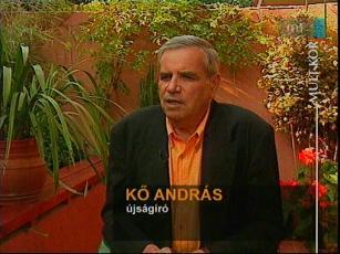 Kő András, újságíró