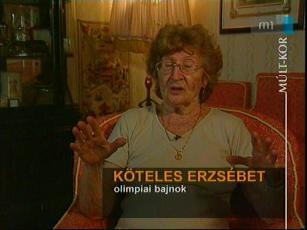 Köteles Erzsébet, olimpiai bajnok