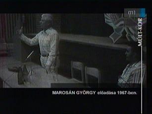 Marosán György előadása 1967-ben