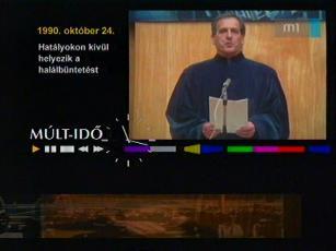1990. október 24.: Hatályokon kívül helyezik a halálbüntetést