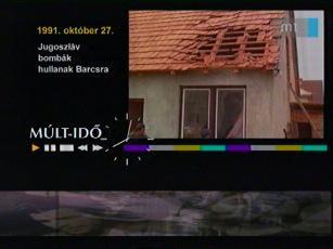 1991. október 27.: Jugoszláv bombák hullanak Barcsra