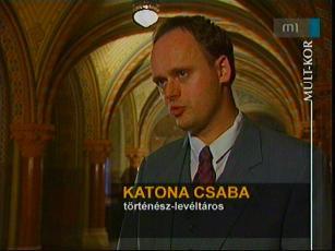 Katona Csaba, történész, levéltáros