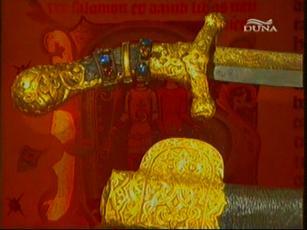 Szkíta  királyi szablya, Bécs, Művészettörténeti  Múzeum