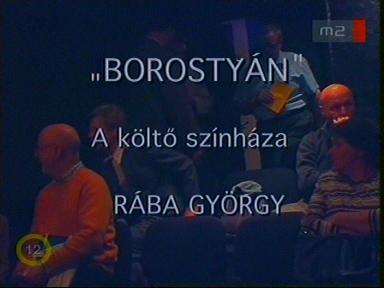 """""""Borostyán"""": A költő színháza: Rába György"""