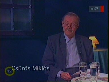 Csűrös Miklós, irodalomtörténész