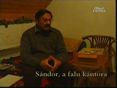 Sándor, a falu kántora