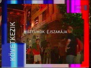 téma: Múzeumok Éjszakája