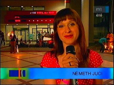 Németh Juci, [tudósító - Jövő Háza, Budapest]