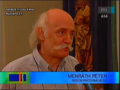 Menráth Péter, restaurátorművész