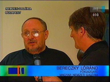 Bereczky Lóránd, főigazgató, Magyar Nemzeti Galéria