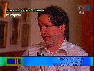 Baán László, főigazgató, Szépművészeti Múzeum