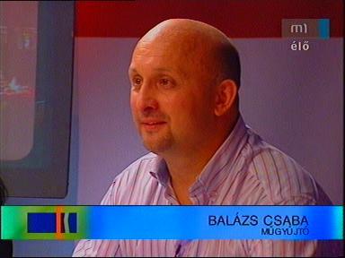 Balázs Csaba, műgyűjtő
