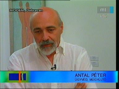 Antal Péter, ügyvéd, műgyűjtő