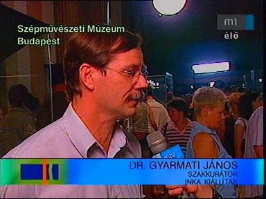 Dr. Gyarmati János, szakkurátor, Inka kiállítás