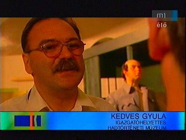 Kedves Gyula, igazgatóhelyettes, Hadtörténeti Múzeum