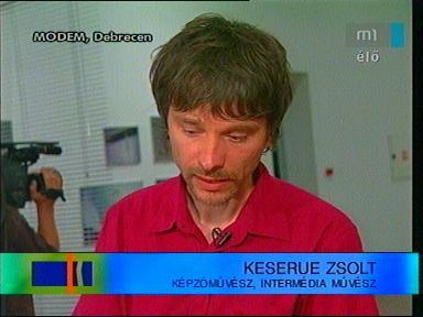 Keserue Zsolt, képzőművész, intermédia művész