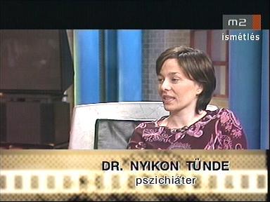 Dr. Nyikon Tünde, pszichiáter