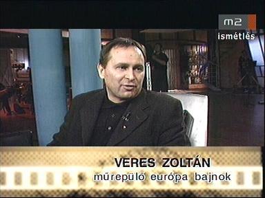 Veres Zoltán, műrepülő európa bajnok