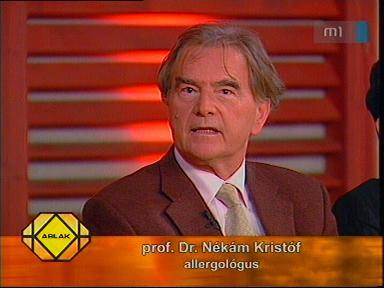 prof. dr. Nékám Kristóf, allergológus