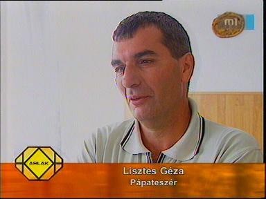 Lisztes Géza, Pápateszér