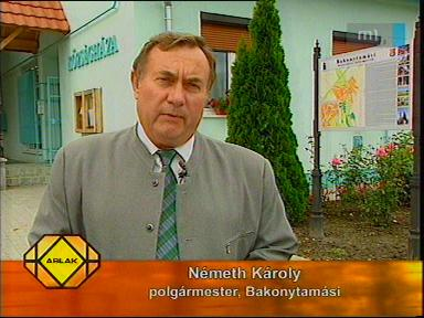 Németh Károly, polgármester, Bakonytamási