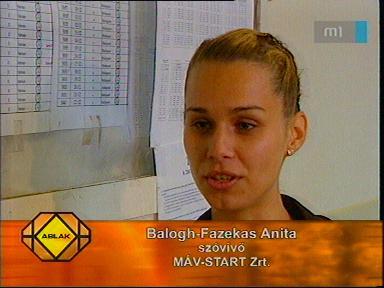 Balogh-Fazekas Anita, szóvivő, MÁV-Start Zrt.
