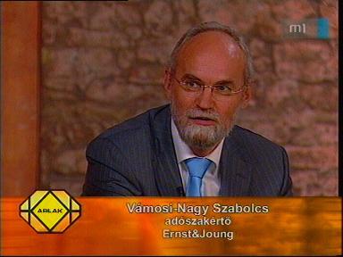 Vámosi-Nagy Szabolcs, adószakértő, Ernst & Joung