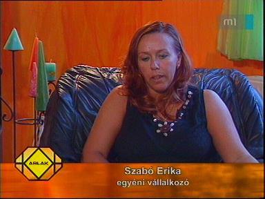 Szabó Erika, egyéni vállalkozó