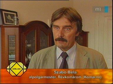 Szabó Béla, alpolgármester, Révkomárom
