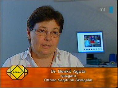 dr. Benkő Ágota, igazgató, Otthon Segítünk Szolgálat