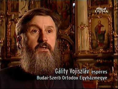 Gálity Vojiszláv, esperes, Budai-Szerb Ortodox Egyházmegye