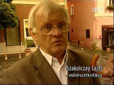 Szakolczay Lajos, művészetkritikus