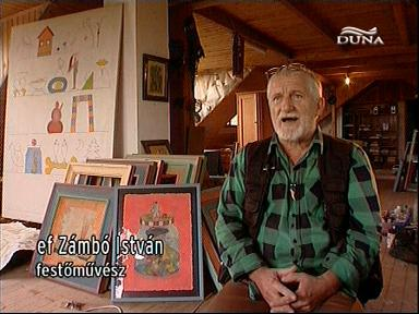 ef Zámbó István, festőművész