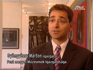Gyöngyössy Márton, igazgató, Pest megyei Múzeumok Igazgatósága