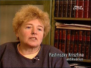 Pastinszky Krisztina, antikvárius