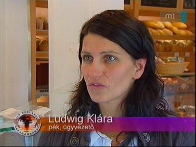 Ludwig Klára, pék, ügyvezető