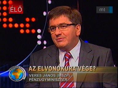 Veres János, pénzügyminiszter, MSZP
