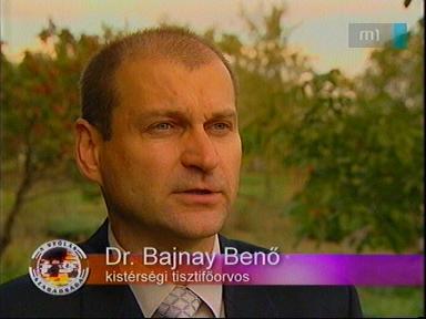 Dr. Bajnay Benő, kistérségi tiszti főorvos