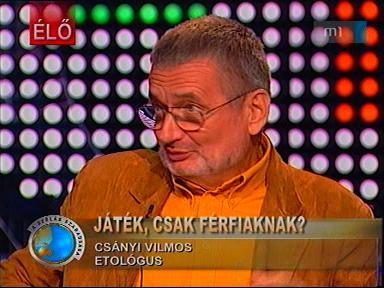 Csányi Vilmos, etológus